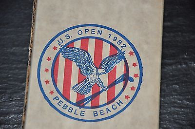 Original 1982 US Open at Pebble Beach Periscope