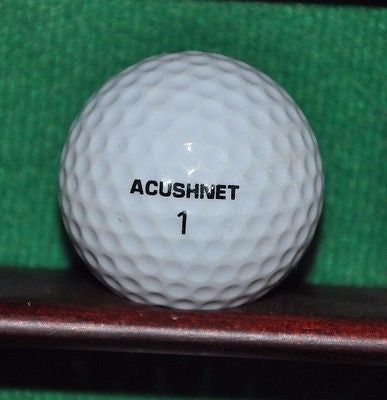 Vintage Acushnet Club Special golf ball with Tandem Company Logo