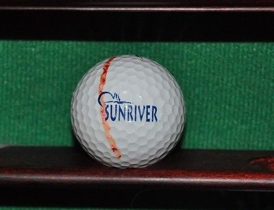 Sunriver Resort in Bend Oregon logo golf ball. Nike.