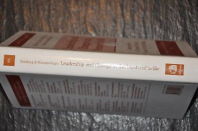 Leadership and Change in the Western Pacific 66 by Richard Feinberg (1996,...