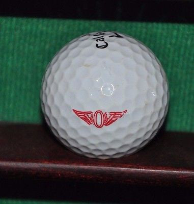The Olympic Club San Francisco logo golf ball. Callaway
