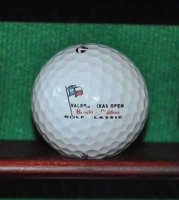 Valero Texas Open logo golf ball. TaylorMade