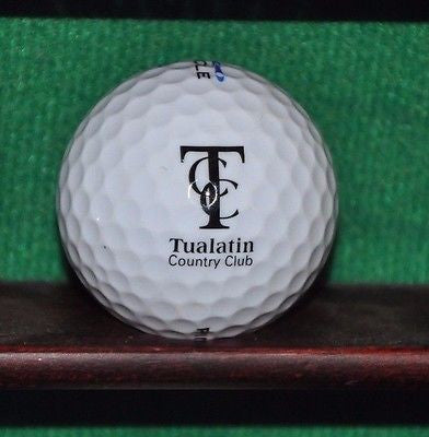 Tualatin Country Club Tualatin Oregon logo golf ball. Excellent Condition.