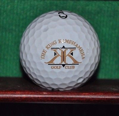 The King Kamehameha Golf CLub logo golf ball. Callaway Tour. Excellent Condition