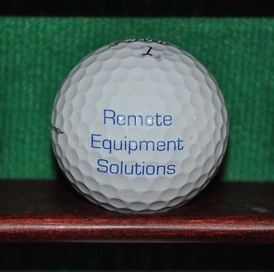 PAR Systems logo golf ball. Titleist Pro V1