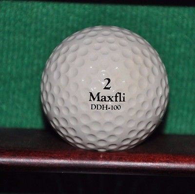 Vintage Maxfli DDH Balata 100 Compression golf ball. Excellent Condition.