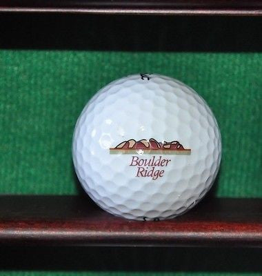 Boulder Ridge Country Club San Jose logo golf ball. Titleist.