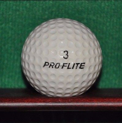 Vintage Spalding Pro-Flite Pro Only Golf Ball. Excellent Example