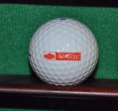 Microsoft and Sogeti logo golf ball.