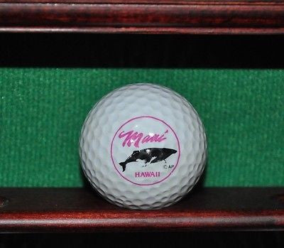 Maui Hawaii logo golf ball.