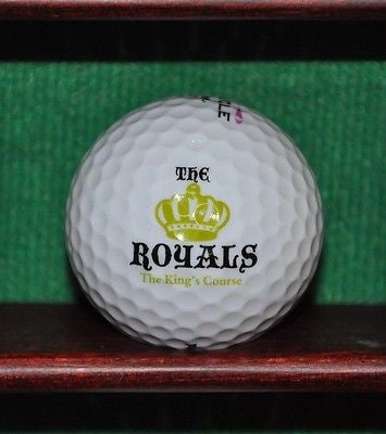 The Royals The King's Course logo golf ball. Excellent Condition.