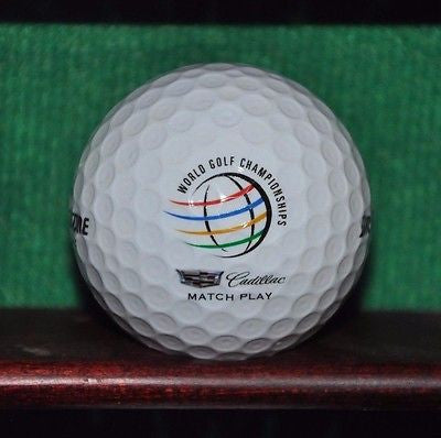 World Golf Championships Cadillac Match Play Championship logo golf ball. Mint