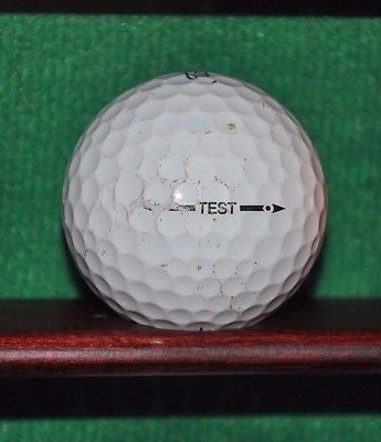 Titleist Test Ball.