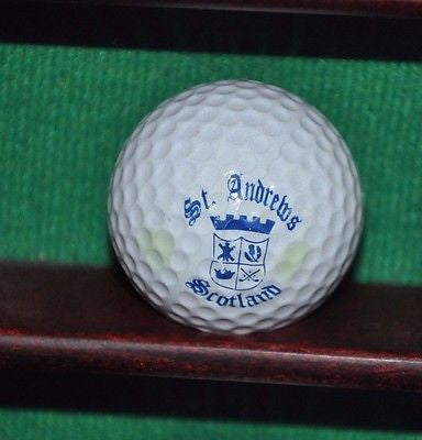 The Royal and Ancient Golf Club of St. Andrew's Scotland logo golf ball.