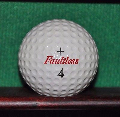 Vintage Faultless Professional Golf Ball. Excellent Condition