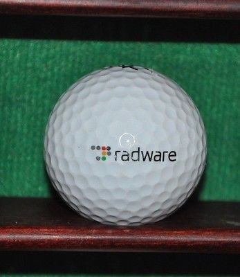 Radware Corporation logo golf ball. Nike