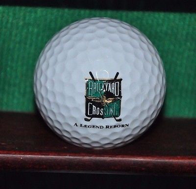 Brickyard Crossing golf course Indianapolis logo golf ball. Hogan.