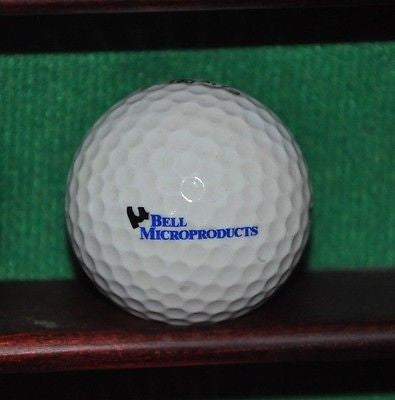 Bell Microproducts logo golf ball. Titleist.