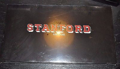 Stanford The Board Game. NIB Rare game based on Stanford University Experience.