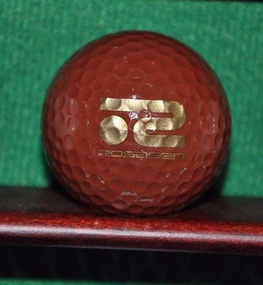 Rosasen Golf Ball. Brown