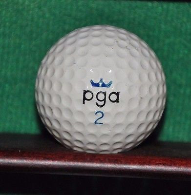 Vintage PGA Butterfly logo golf ball.