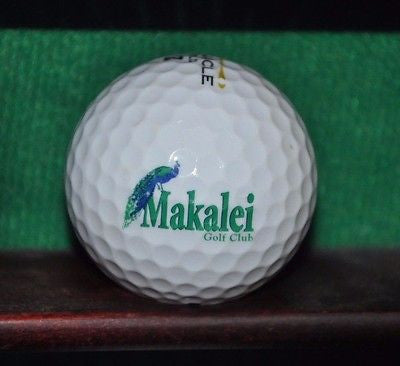 Makalei Golf Club Kona Hawaii logo golf ball.