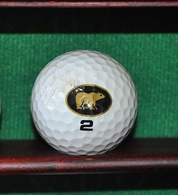 Nicklaus Golden Bear golf ball. Black and Gold .