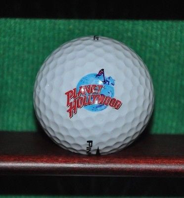 Planet Hollywood logo golf ball.