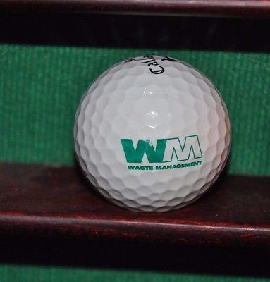 Waste Management Corporation WM Logo Golf Ball. Callaway HEX Black