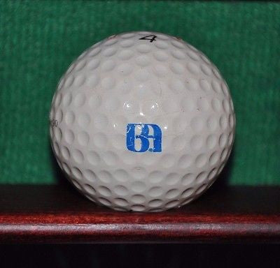 Vintage Bank of America golf Ball Titleist