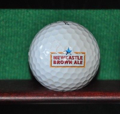 Newcastle Brown Ale logo golf ball Titleist Pro V1