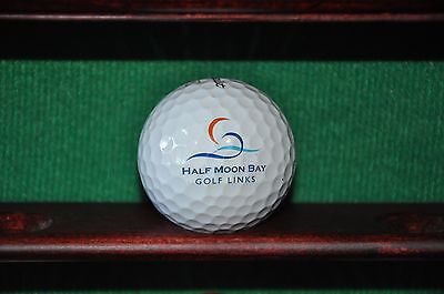 Half Moon Bay Golf Links Logo Ball. Titleist Pro V1