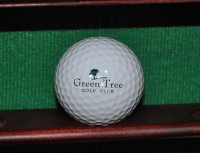 Green Tree Golf Club logo ball. Nike.