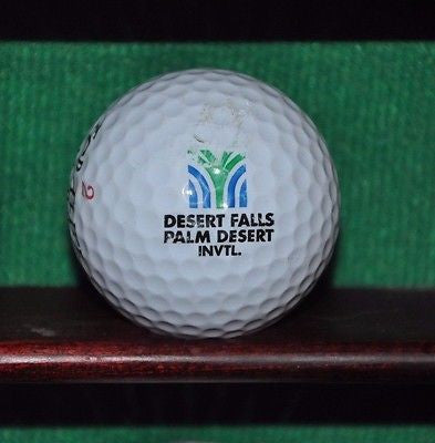 Desert Falls Palm Desert Invitational logo golf ball.