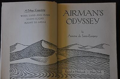 Airman's Odyssey by Antoine De Saint - Exupery First Edition