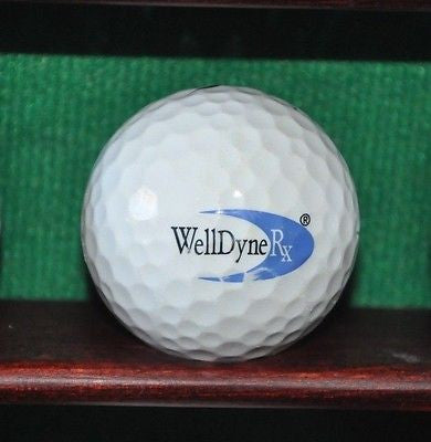 WellDyne Rx company logo golf ball. Nike.