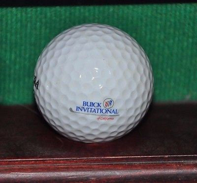 Buick Invitational of California logo golf ball.