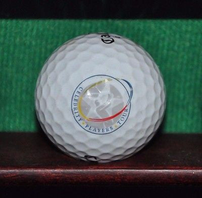 Celebrity Players Golf Tour logo golf ball. Callaway