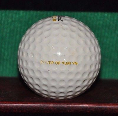 Nicklaus MacGregor Golden Bear golf ball.