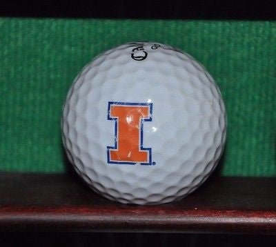 University of Illinois Illini logo golf ball. Callaway.