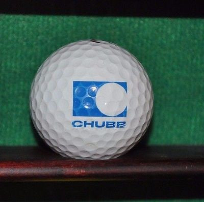 Chubb Insurance Corporation logo golf ball. Titleist.