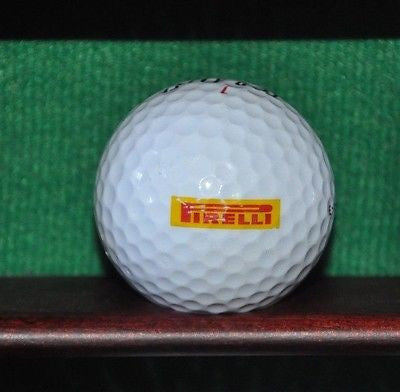 Pirelli Tires logo golf ball.