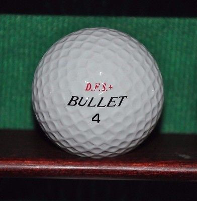 DFS +  Bullet Golf Ball. Vintage Ball.