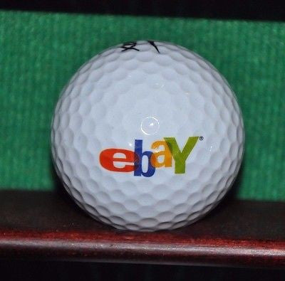 Ebay Corporation logo golf ball. Nike.