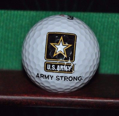 US Army Logo golf ball Army Strong.