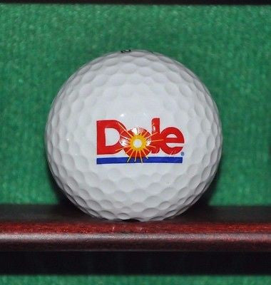 Dole Fruit Company logo golf ball. Nike