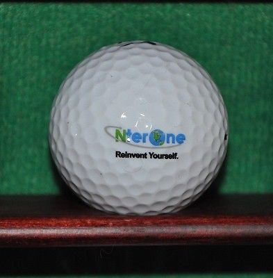 Nter One Reinvent yourself logo golf ball. Nike. Excellent Condition