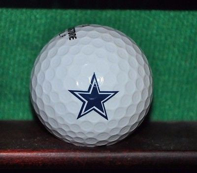 Dallas Cowboys NFL logo golf ball. Bridgestone. Excellent Condition