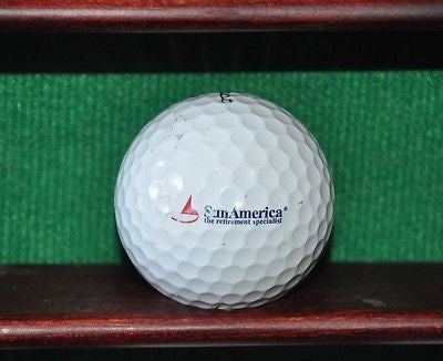 Sun America the Retirement Specialists Logo Golf Ball. Titleist Pro V1