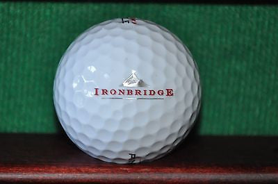 Ironbridge Golf Club Logo Golf Ball. Excellent Condition.